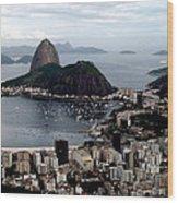 Sugarloaf Mountain Brasil Wood Print