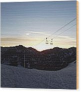 Sugarloaf Sunrise Wood Print
