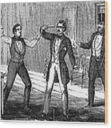 Suicide Attempt, 1859 Wood Print