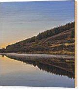 Suilven Across Loch Craggie Wood Print