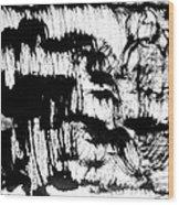 Sumi-e 120726-3 Wood Print