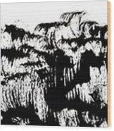 Sumi-e 120726-4 Wood Print