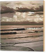 Summer Afternoon At The Beach Wood Print
