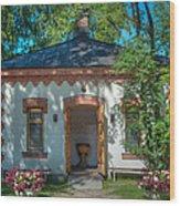 Summer Chapel Wood Print