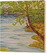 Summer Daydream Wood Print