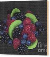 Summer Fruit Medley Wood Print