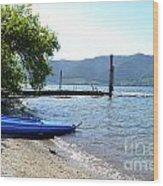 Summer Kayak Wood Print