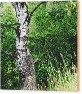 Summer Memory Wood Print