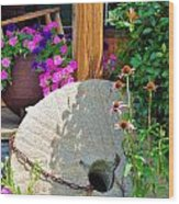 Summer Millstone Wood Print by Jan Amiss Photography