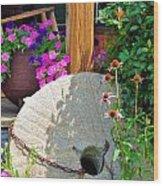 Summer Millstone Wood Print