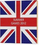 Summer Olympics In U.k. Wood Print
