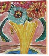 Summer Season 2012 Blooms Wood Print