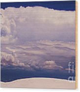 Summer Storms Over The Mountains 2 Wood Print