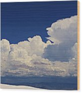 Summer Storms Over The Mountains 4 Wood Print