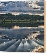 Summer Thunder Wood Print by Nathan Larson
