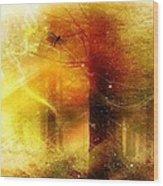 Summers Last Dragonfly Wood Print by Gun Legler