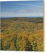 Summit Peak Autumn 12 Wood Print