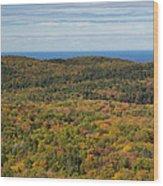 Summit Peak Autumn 13 Wood Print