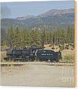 Sumpter Valley Railroad Wood Print