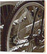 Sun Cruiser Wheels Wood Print