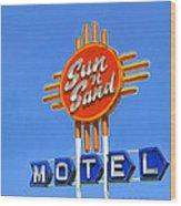 Sun 'n Sand Wood Print
