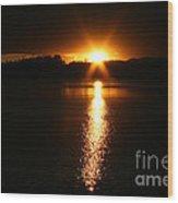 Sun Ray Wood Print