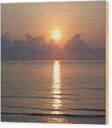 Sun Rise 2 Wood Print