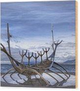 Sun Voyager Wood Print