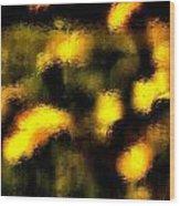 Sun Worshiper Wood Print