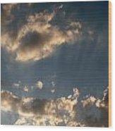 Sunbeams From Heaven Wood Print