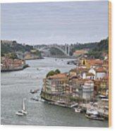 Sunday Morning In Porto | Portugal Wood Print