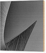 Sundial Bridge Four Wood Print