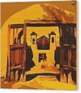 Sundown Chimayo Wood Print