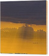 Sundown Over Sanibel Wood Print