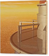 Sundustrial Wood Print