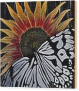 Sunfly Wood Print