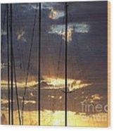 Sunlight - Ile De La Reunion Wood Print by Francoise Leandre