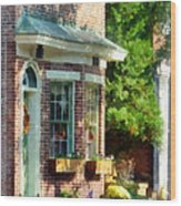 Sunny Afternoon New Castle De Wood Print
