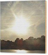 Sunny Beams Wood Print by Brityn Klehr