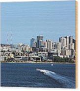 Sunny Seattle Wood Print