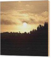 Sunrise - Sunset - 0045 Wood Print