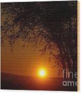 Sunrise At Maryhille  Wood Print