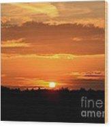 Sunrise August 1 2012 Wood Print