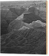 Sunrise Goosenecks San Juan River Utah Wood Print