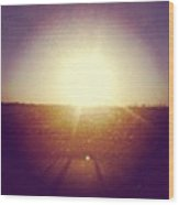 #sunrise #nature #sky #andrography Wood Print