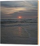 Sunrise Obx Wood Print