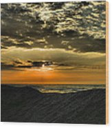 Sunrise Over Assateague II Wood Print