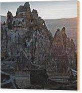 Sunrise Over Cappadocia Wood Print