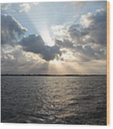 Sunrise Over Keaton Beach Wood Print