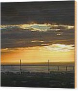 Sunrise Over Kessock Wood Print
